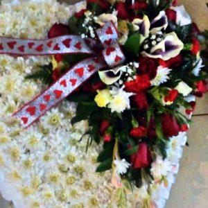 Heart Funeral Wreaths in Nairobi by Ceekay Flowers