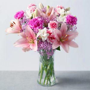 Pink flowers in a Vase_kenya
