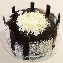 Choco-Bounty cake
