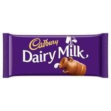 dairy chocolate bar