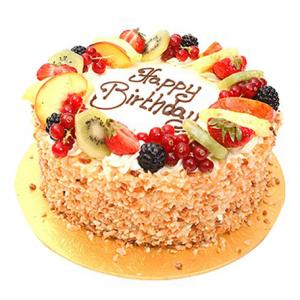 Macedonia fruit cake